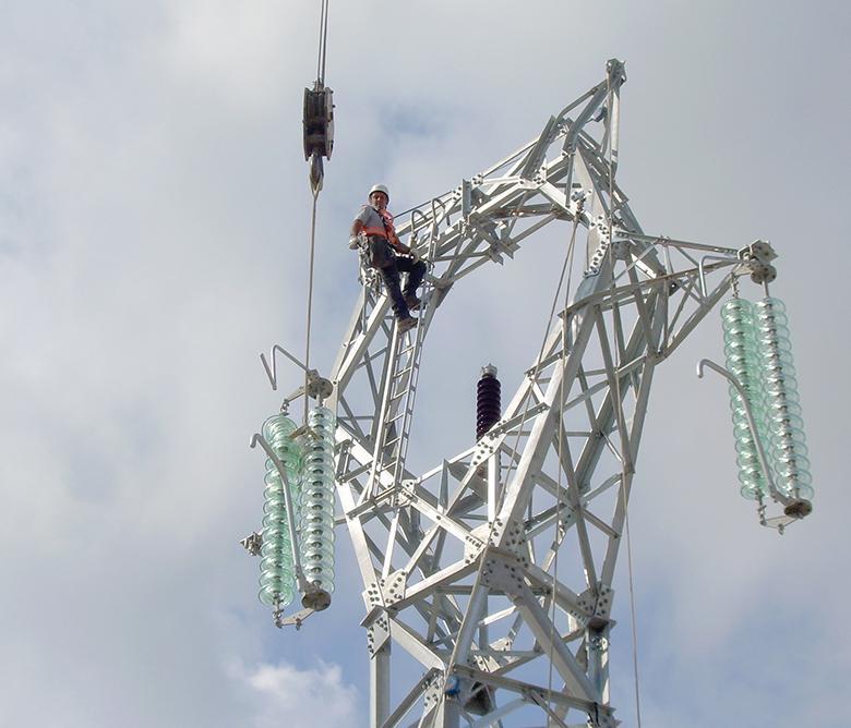 Parco modello elettrico collegamento